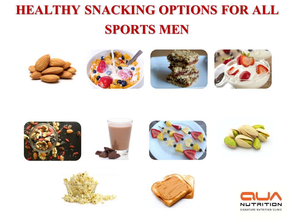 Healthy snacking options for athletes