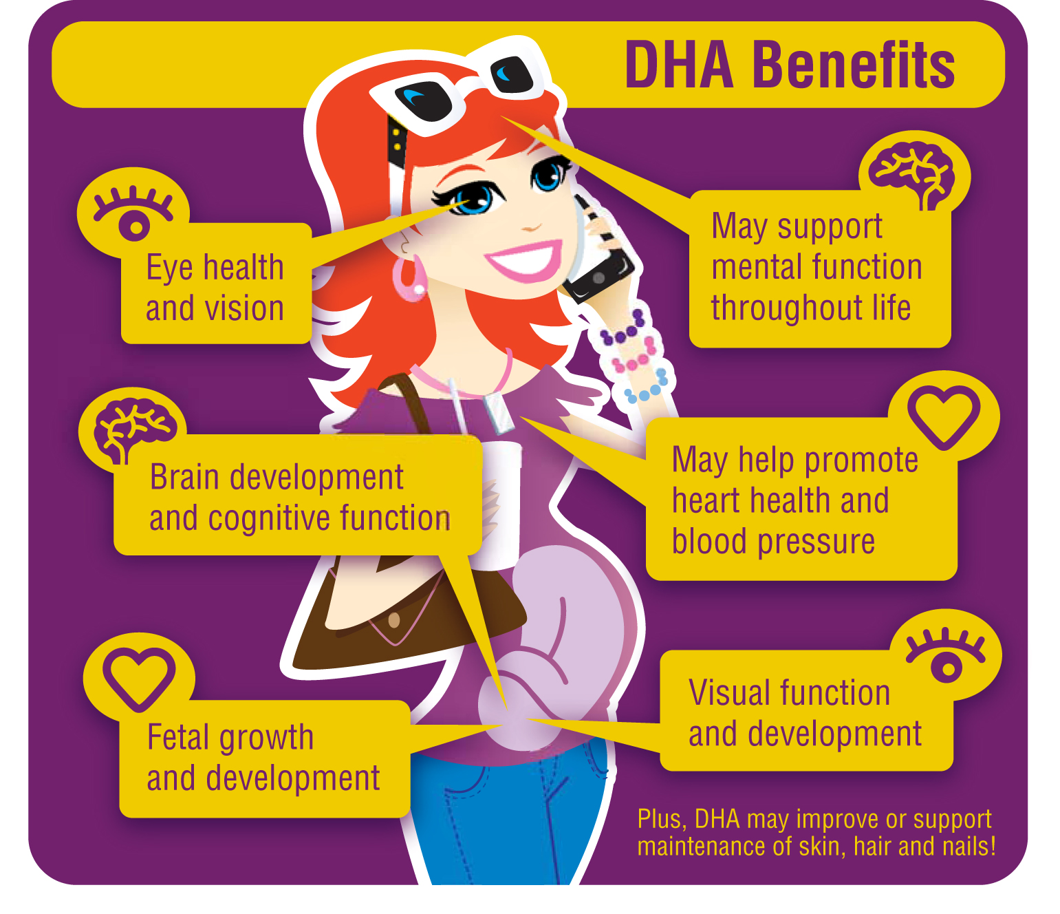 Importance of DHA for pregnant women
