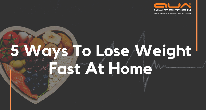 Best Ways To Lose Weight At Home By QUA NUTRITION - Ryan Fernando