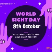 World Sight Day 2020-21: Food need to be in your plate